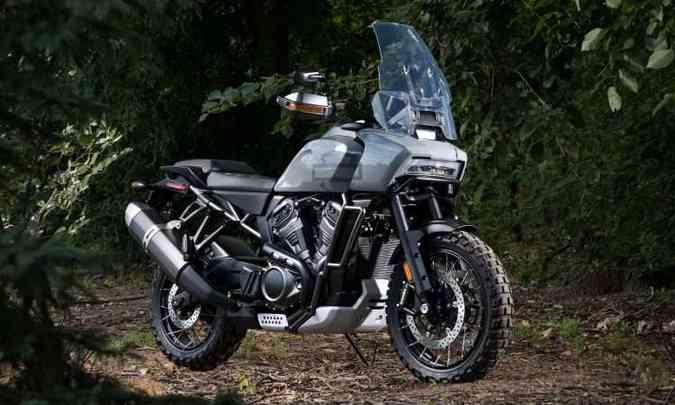 A aventureira Pan América tem motor V2 arrefecido a líquido(foto: Harley-Davidson/Divulgação)