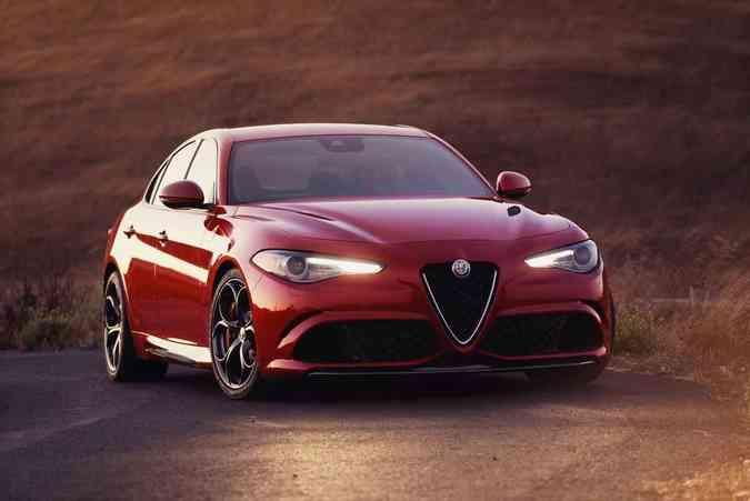 Alfa Romeo Giulia 2017Alfa Romeo/Divulgação