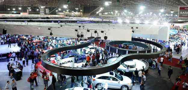 Evento abre as portas no dia 30 de outubro e segue até o dia 9 de novembro - Salão do Automóvel de São Paulo/divulgação