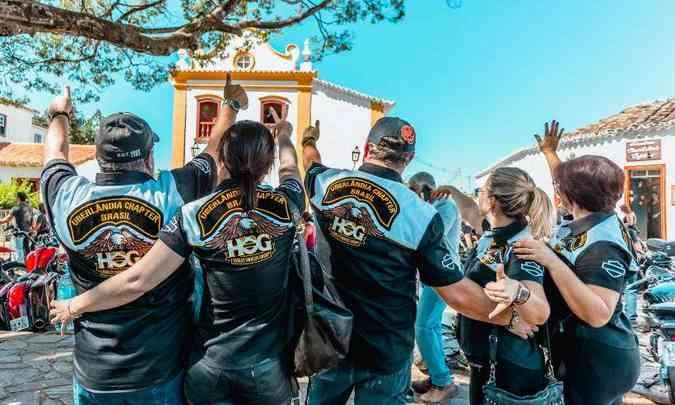 Motociclistas de diversos clubes do país marcaram presença mais uma vez no tradicional evento(foto: Bike Fest/Divulgação)