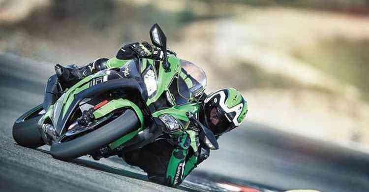 A potência sobe para 210cv com ajuda da pressão do ar em altas velocidades  - Kawasaki/Divulgação