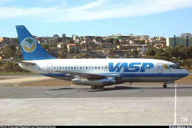 Boeing 737-200 PP-SMA da VaspRaphael Luiz Figueira de Souza/Airliners.net/Reprodução