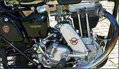 Motor tem um cilindro, 497 cm³ e potência (estimada) em 18 cv -