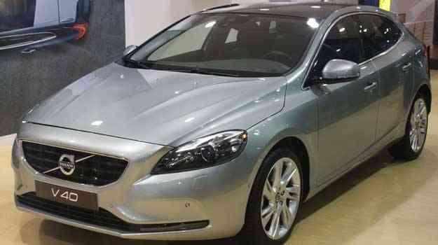 Volvo V40 é um dos carros mais seguros do mundo  - Marcello Oliveira/EM/D.A PRESS