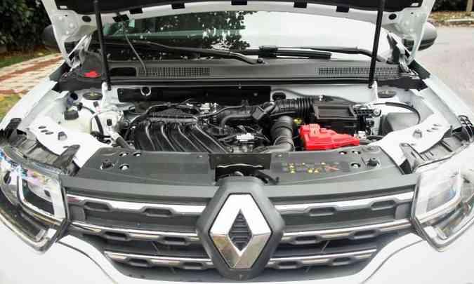 Motor tem bom torque em baixas rotações, o que já é o bastante para aliar agilidade e consumo ok de combustível(foto: Adriano Sant%u2019Ana/EM/D.A Press)