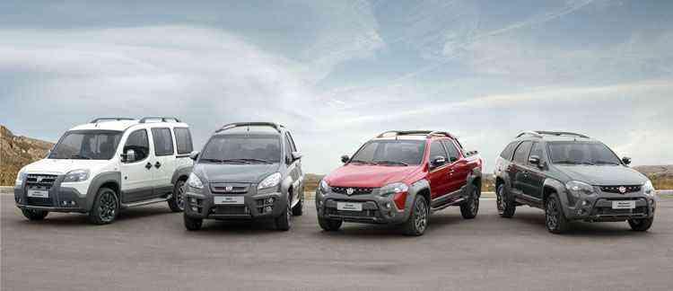 Família Adventure agora está completa com a série especial Extreme - Fiat/Divulgação