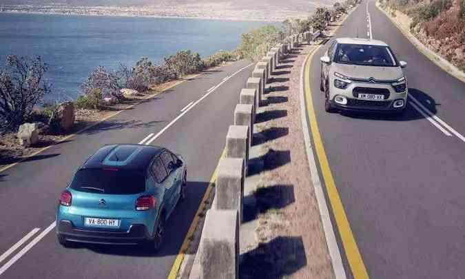Nova geração do C3 europeu foi lançada no início de 2020(foto: Citroën/Divulgação)