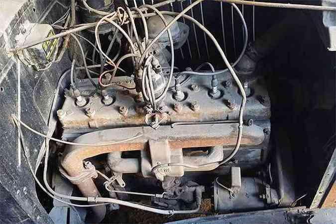 Dodge tinha motor seis cilindros de 58 cavalos(foto: Edésio Ferreira/EM/D.A Press)