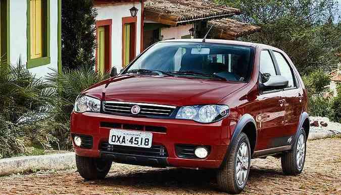 Fiat soma a venda de todas as gerações e versões do Palio (foto: Fiat/Divulgação)