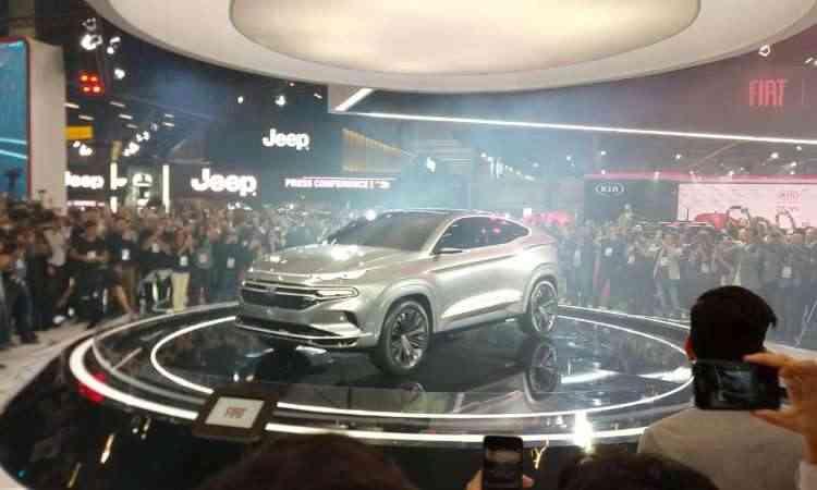 O conceito Fiat Fastback revela como será o SUV derivado da picape Toro - Pedro Cerqueira/EM/D.A Press