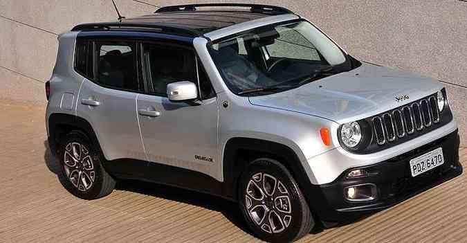 Jeep Renegade cresceu em vendas no segundo semestre(foto: Jeep/ Divulgação)