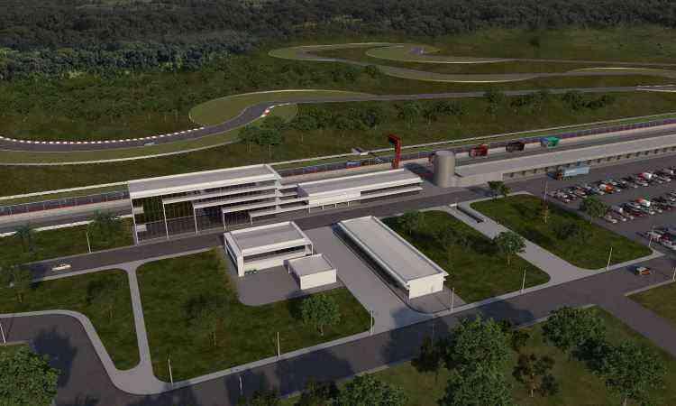 A pista fica em área de 4 milhões de metros quadrados, ao lado de Curvelo - Yes Sports/Divulgação