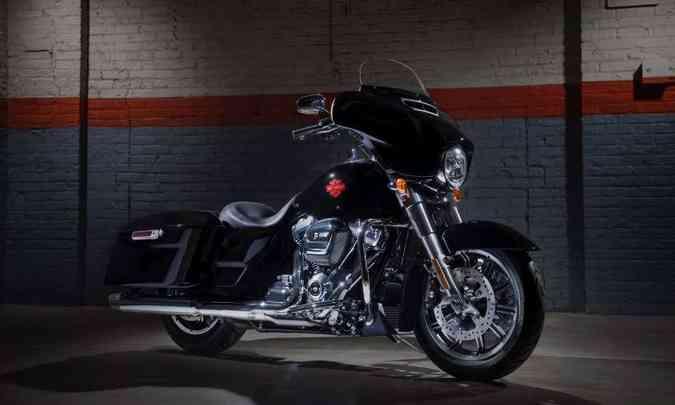A carenagem estilo asa de morcego tem ventilação regulável(foto: Harley-Davidson/Divulgação)