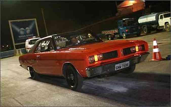 Poucos chamam tanta atenção quanto o Dodge Charger de Geraldo Rocha, que participa das Megas Quintas há 4 anos