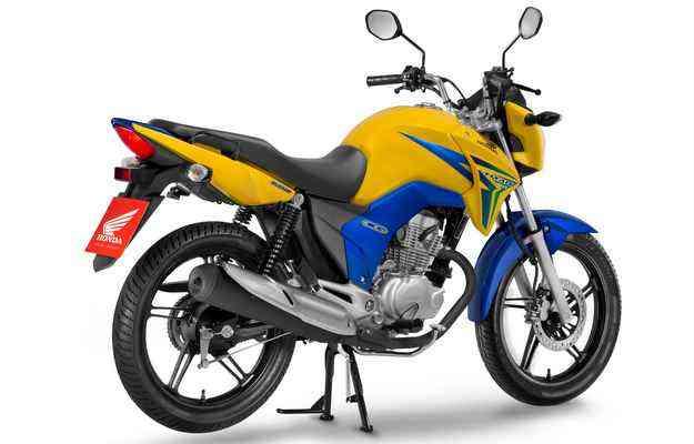 CG BR é equipada com motor 4 tempos de 149,2 cm³ - Honda/divulgação