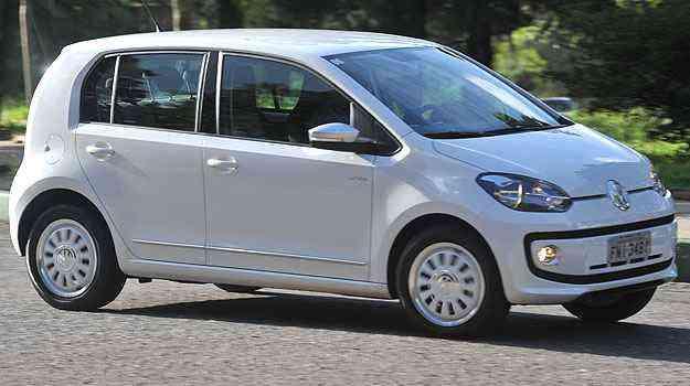 Lançamento em 2014, up! teve médias de  13,2km/l (cidade) e 14,3 km/l(estrada) - VW/Divulgação