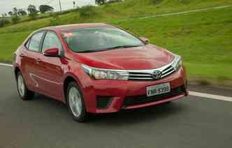 Preço de entrada do novo Corolla é R$ 69.690(foto: Toyota/Divulgação)