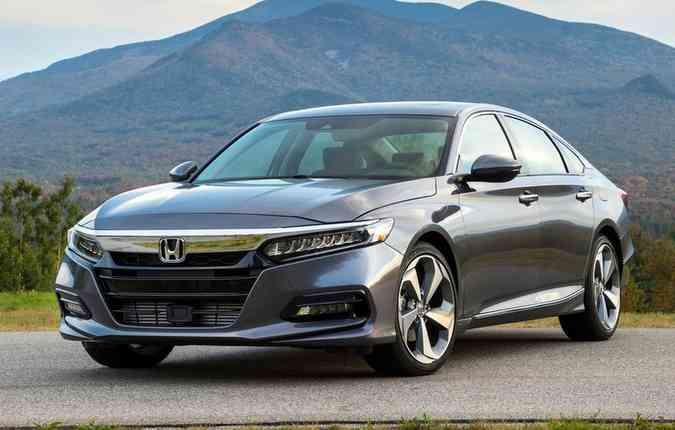 Honda Accord deve compartilhar mais do que as linhas do seu design com o Civic(foto: Honda/Divulgação)