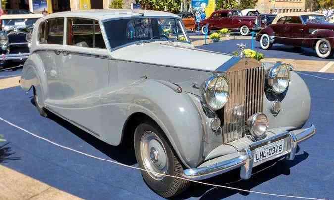 Rolls-Royce Silver Wraith 1953(foto: Pedro Cerqueira/EM/D.A Press)