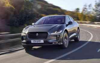 Jaguar aposta no I-Pace para concorrer com Tesla Model X e Audi e-Tron. Foto: Jaguar / Divulgação