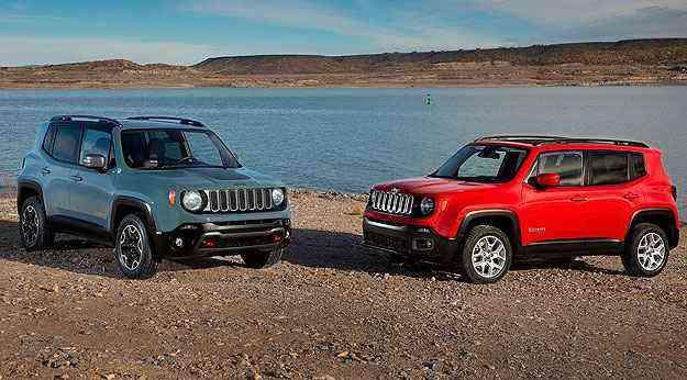 Veja mais fotos do Jeep Renegade - Jeep/Divulgação