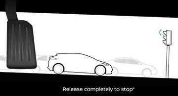 Se o motorista tirar totalmente o pé do pedal, o carro freia - Nissan / Divulgação