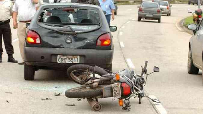 Cresce o número de jovens mutilados por acidentes com motos(foto: Cristina Horta/EM/D.A PRESS)