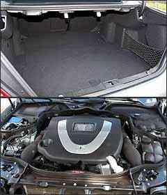 Embora amplo e profundo, porta-malas não tem altura. Motor tem performanceexcepcional - Marlos Ney Vidal/EM - 2/4/07
