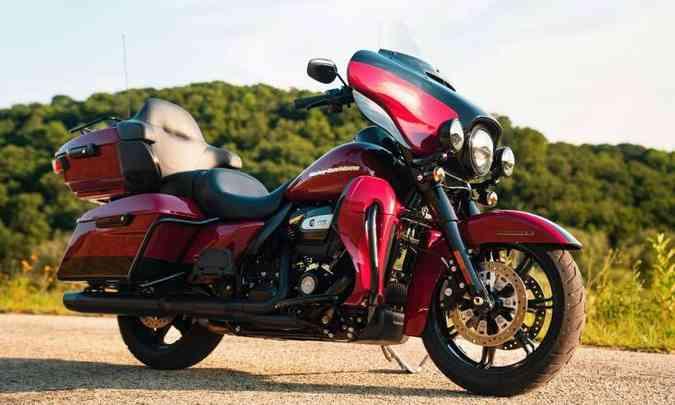 Harley-Davidson Touring Ultra Limited(foto: Harley-Davidson/Divulgação)
