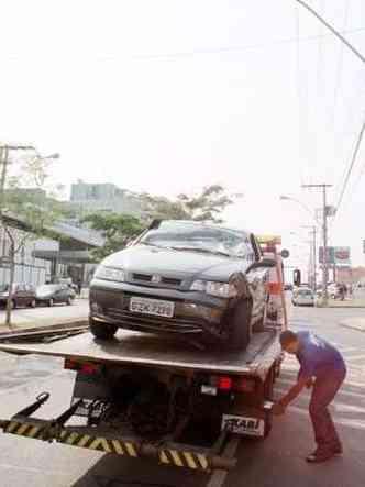 Nem todos os contratos de seguro incluem o serviço de guincho(foto: Euler Júnior/EM/D.A Press)