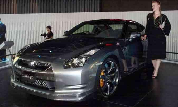 Primeira aparição oficial no Brasil ocorreu em 2008, durante o Salão do Automóvel(foto: Daniel Camargos/EM/D.A Press)