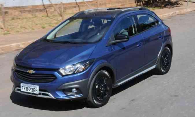 O Chevrolet Onix fechou 2018 como o modelo mais vendido no mercado brasileiro(foto: Paulo Filgueiras/EM/D.A Press)
