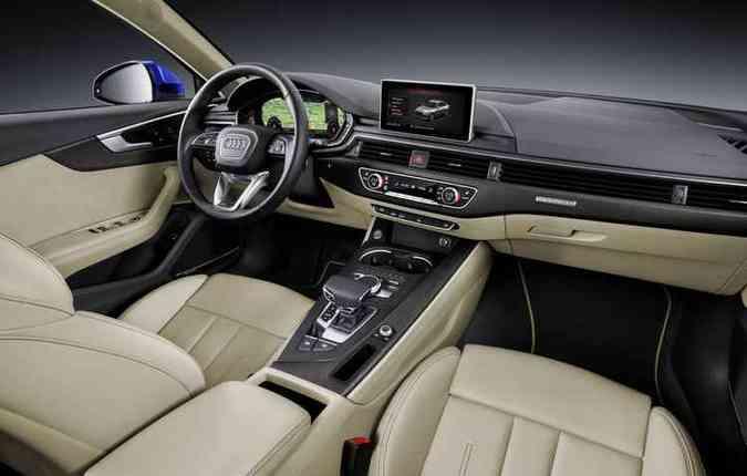 Interior ganhou aspecto ainda mais premium(foto: Audi/divulgação)
