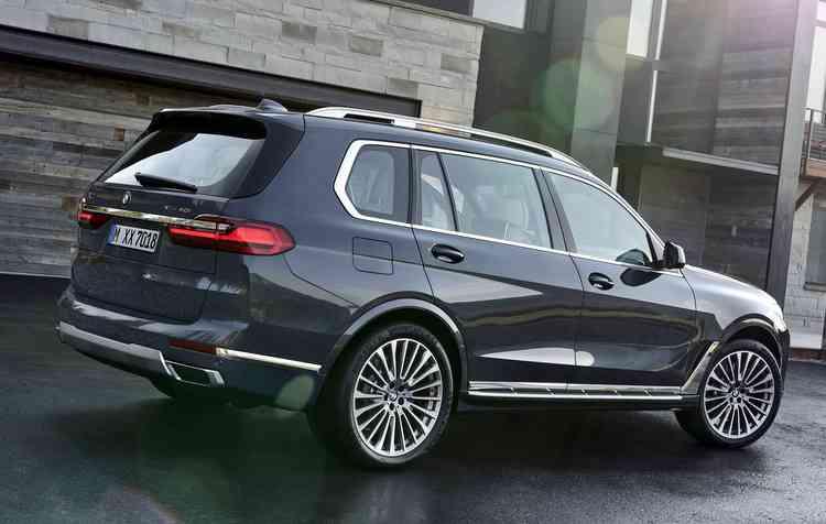 X7 é o maior da família X. Foto: BMW / Divulgação -