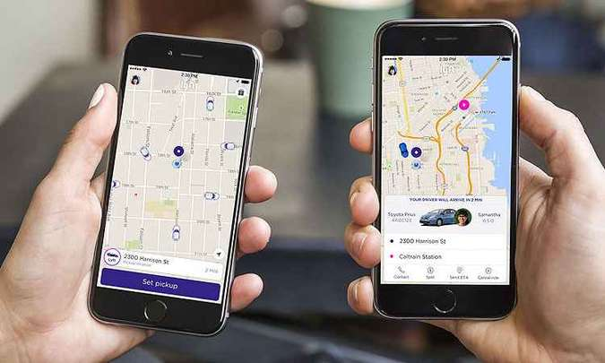 Aplicativo tem operação semelhante ao do Uber(foto: Lyft/Divulgação)