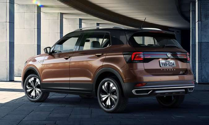 Com volume de 373 litros, espaço do porta-malas é insuficiente para um SUV(foto: Volkswagen/Divulgação)