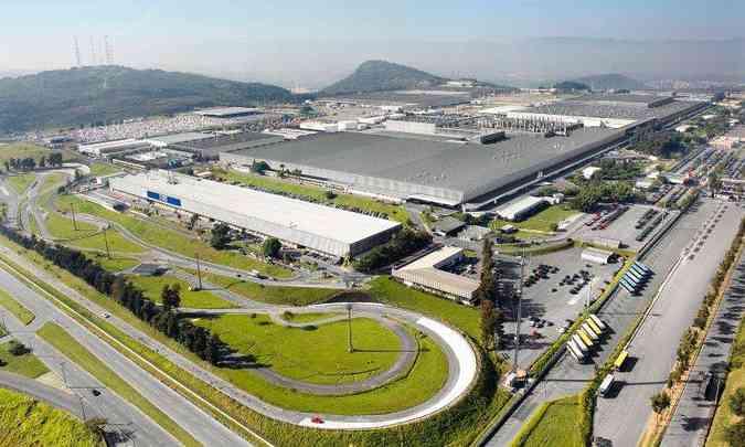 A fábrica de Betim foi inaugurada em 1976 e de lá para cá já passou por momentos diferentes(foto: Fiat/Divulgação)