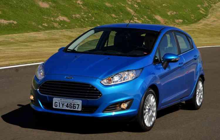 Versão mais completa do New Fiesta, Titanium, completa, custa cerca de R$ 58 mil - Ford / Divulgação