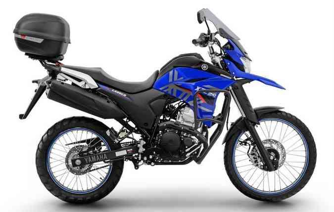 Nova Lander equipada com o kit Touring. Foto: Yamaha/ Divulgação.