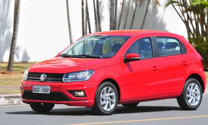 O jurássico VW Gol foi o terceiro modelo mais vendido em setembro, com 9.134 unidades(foto: Gladyston Rodrigues/EM/D.A Press)