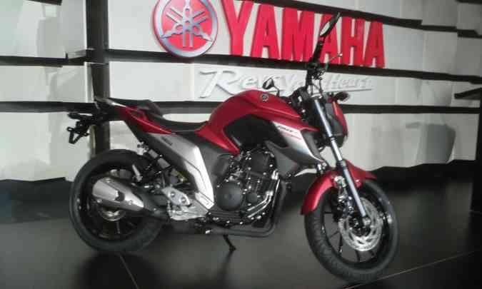Yamaha Fazer 250 ABS(foto: Téo Mascarenhas/EM/D.A Press)