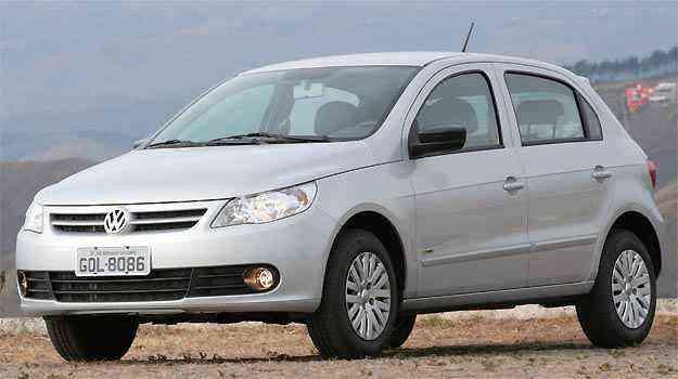 VW Gol é o carro mais vendido no país, mas comprar versão de entrada com ABS e airbag é difícil - Fotos: Marlos Ney Vidal/EM/D.A PRESS