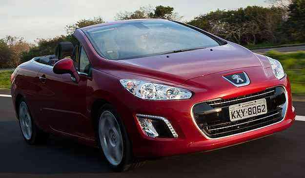 308 CC tem preço de 147.490,00 um aumento de R$ 10 mil  - Peugeot/Divulgação