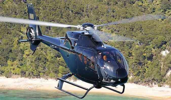Airbus H120 com para transporte de passageiros (foto: ANTHONY.PECCHI/Divulgação Airbus)