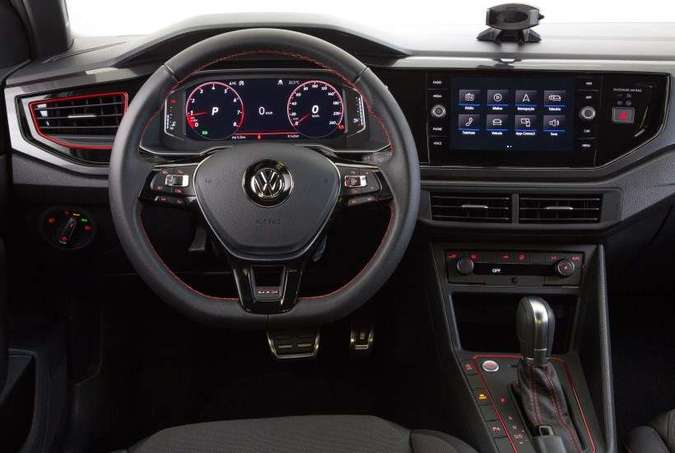 Quadro de instrumentos digital é de série na versão(foto: Volkswagen/Divulgação)