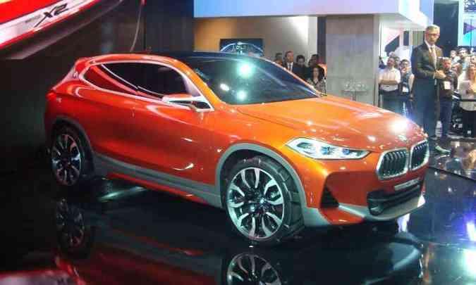 BMW Concept X2(foto: Bruno Freitas/EM/D.A Press)