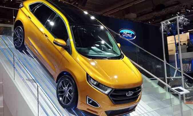 Ford Edge(foto: Pedro Cerqueira/EM/D.A Press)