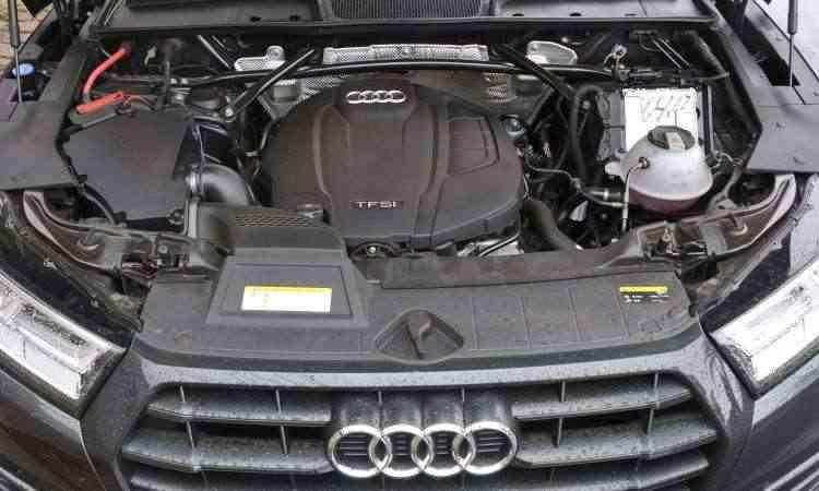Motor 2.0 turbo, com injeção direta, proporciona desempenho impecável ao SUV médio - Juarez Rodrigues/EM/D.A Press