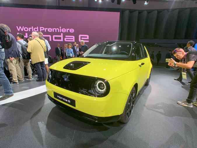 Carro totalmente elétrico da Honda foi apresentado no Salão de Frankfurt(foto: Jorge Moraes/ DP)