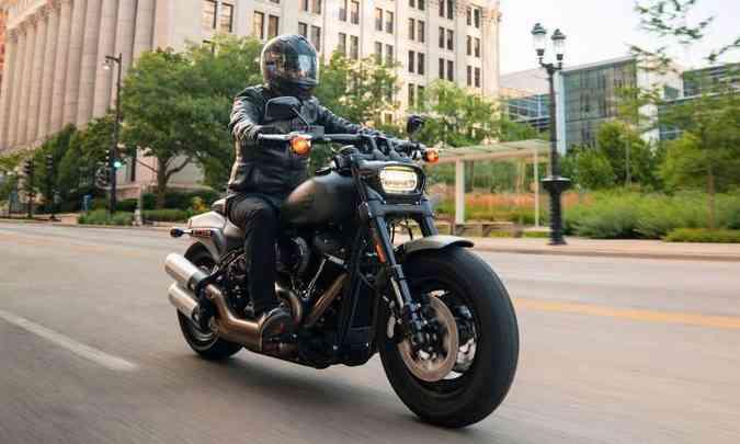 Harley-Davidson Softail Fat Bob(foto: Harley-Davidson/Divulgação)